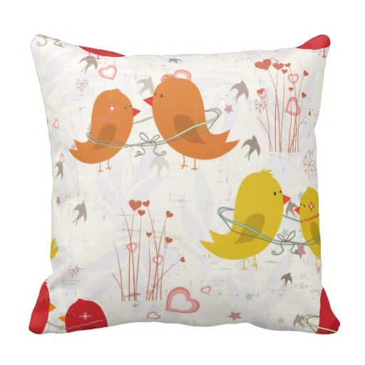 Love Birds Throw Pillow In our offer link above you will seeHow to          	Love Birds Throw Pillow lowest price Fast Shipping and save your money Now!!...