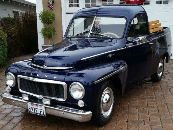Volvo Style Pickup! - http://barnfinds.com/volvo-style-pickup/