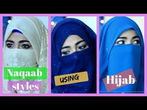 Quick Naqaab Styles Using A Hijab | Soubia Bhat | - YouTube