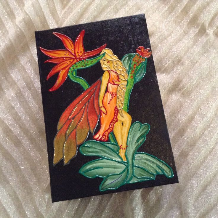 "Fairy art, keepsake box, decorative fairy box, memories box, fairy painting,  jewelry case, handpainted box ""Exotic Jungle fairy"" by EthnicDrops on Etsy https://www.etsy.com/listing/292479503/fairy-art-keepsake-box-decorative-fairy"