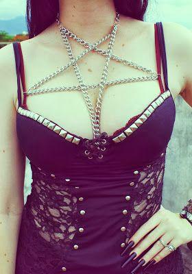 Santta Tendência: DIY - Pentagram Harness