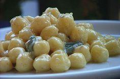 Italian food - Gnocchi al gorgonzola