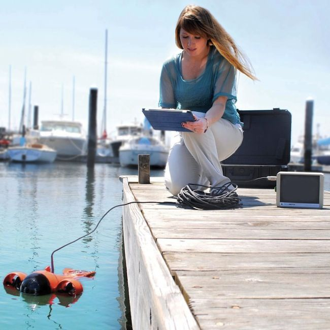 iPad Controlled Submarine Videocamera