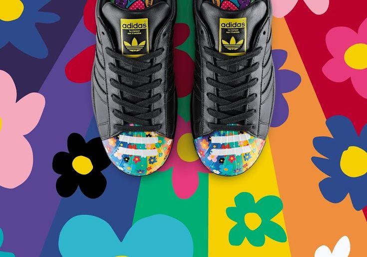 STYLE REPORT EN ESPAÑOL   Pharrell Williams y amigos intervienen el famoso Shelltoe de Adidas