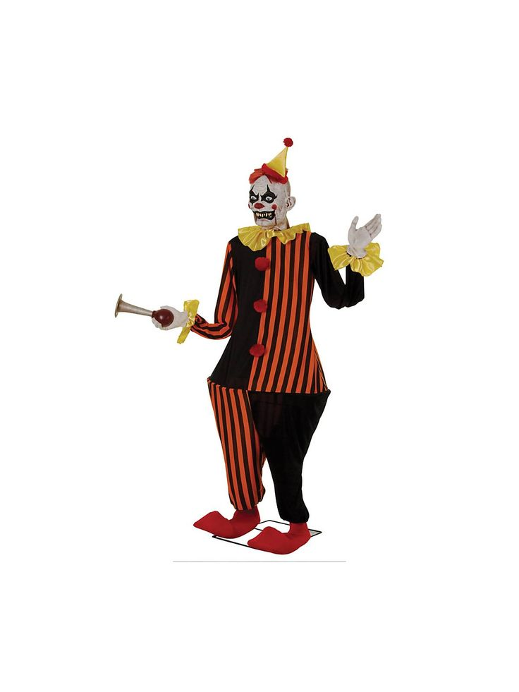 6 animated honky the clown wholesale animated props for your home or business carnevil pinterest cheap halloween decorations cheap halloween and - Animated Halloween Figures