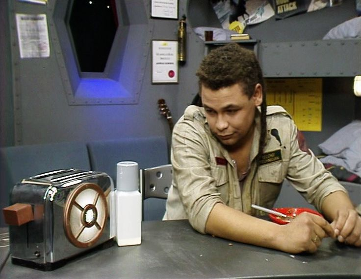 Talkie the toaster as it appeared in the first series