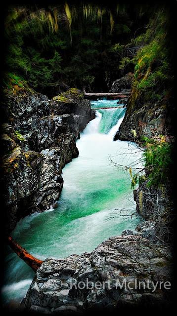 Little Qualicum Falls on Vancouver Island, British Columbia More at www.imagesbyrob.blogspot.com