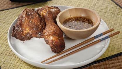 Receta de Pollo frito estilo coreano