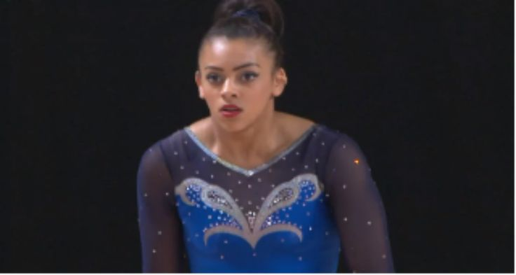 Ellie Downie gymnastics bronze medal winner 2015