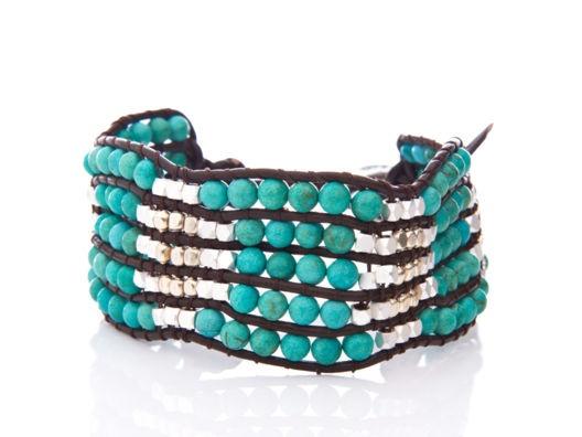 Beaded Pattern Bracelet.