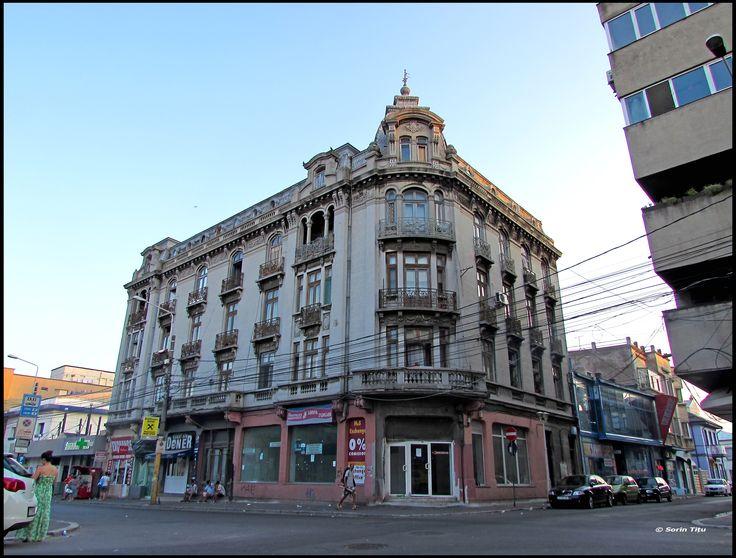 Constanta cityscape old building forgotten