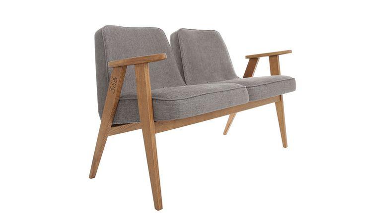 MONOQI | Soft Loft Zweisitzer-Sofa - Grey Soft Loft von 366 Concept
