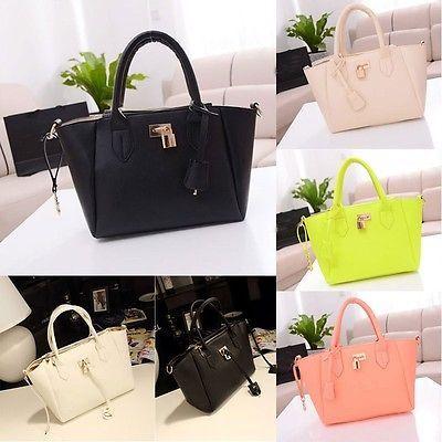 Korean Lady Women Hobo PU Leather Messenger Handbag Shoulder Bag Totes Purse