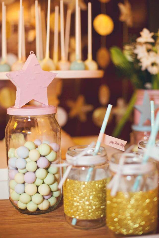 Little star.Candy bar