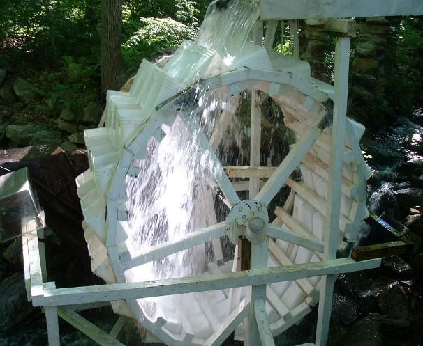 Water wheel power off grid ideas pinterest water for Recensioni h2o power x