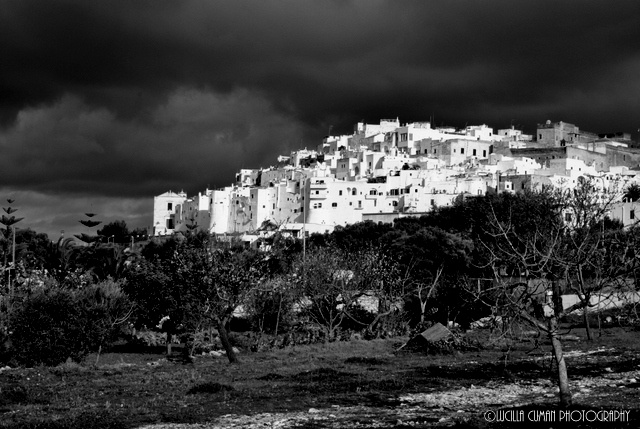 Ostuni black and white, Italy.  https://www.facebook.com/LucillaCumanPhotography