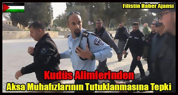 Beytulmakdis Alimler Heyeti yaptığı açıklamada, İsrail güçlerinin Mescid-i Aksa bekçilerini hedef alan uygulamalarını kınadı.  Heyet yaptığı basın açıklamasında, Mescidi Aksa bekçilerinin,   #aksa muhafızları #alimler tepki #beytül mukaddes #israil tutuklama #mescidi aksa