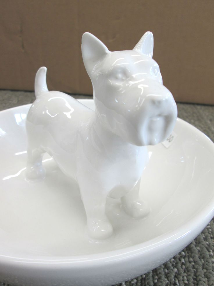 "Scotty Dog candy dish aprx 6"" x 5"""