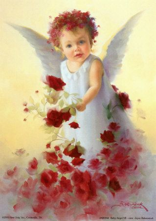 Red Roses baby Angel