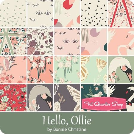 Hello, Ollie by Bonnie Christine for Art Gallery Fabrics - July 2016