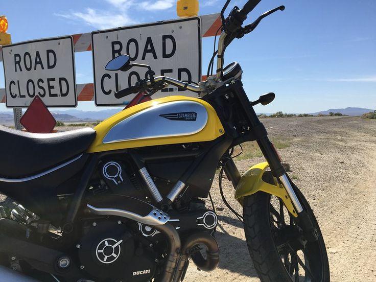 Wild West on a Scrambler Ride Report - Ducati Scrambler Forum