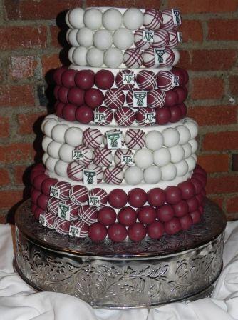 4 Tiered Sports Themed Grooms Cake Cakeballs Weddingcake Groomscake