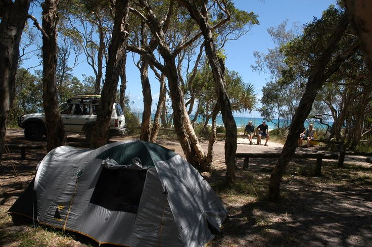 Flinders Beach Camping Area, North Stradbroke Island, Queensland