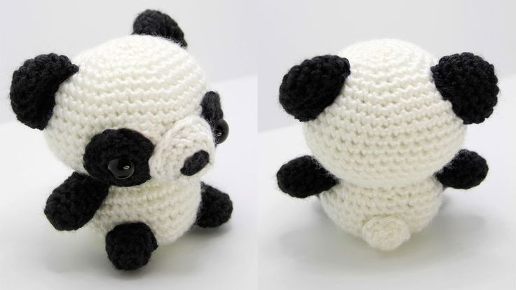 Amigurumi Bigfoot Panda : 25+ best ideas about Crochet panda on Pinterest Free ...
