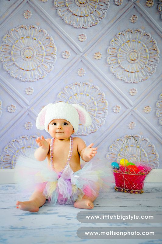 """The """"Easter Bunny"""" tutu - the perfect addition to your Easter photo shoot and egg hunt"""