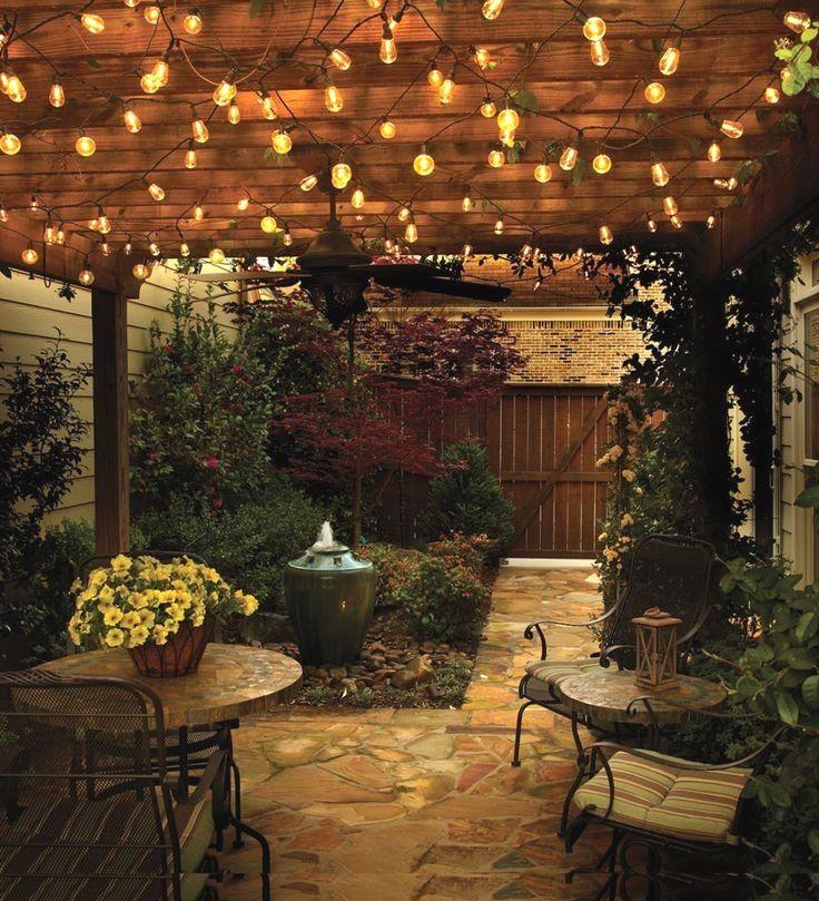 Patio Pergola Design Ideas Backyard Lighting Pergola Lighting