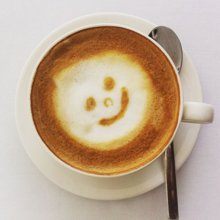 smile! It's coffee