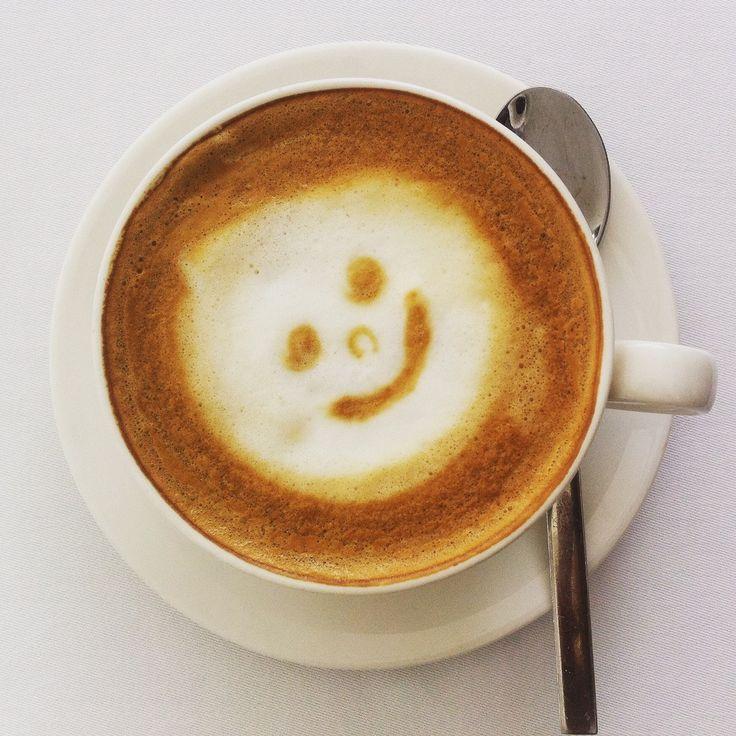 smile! It's coffee