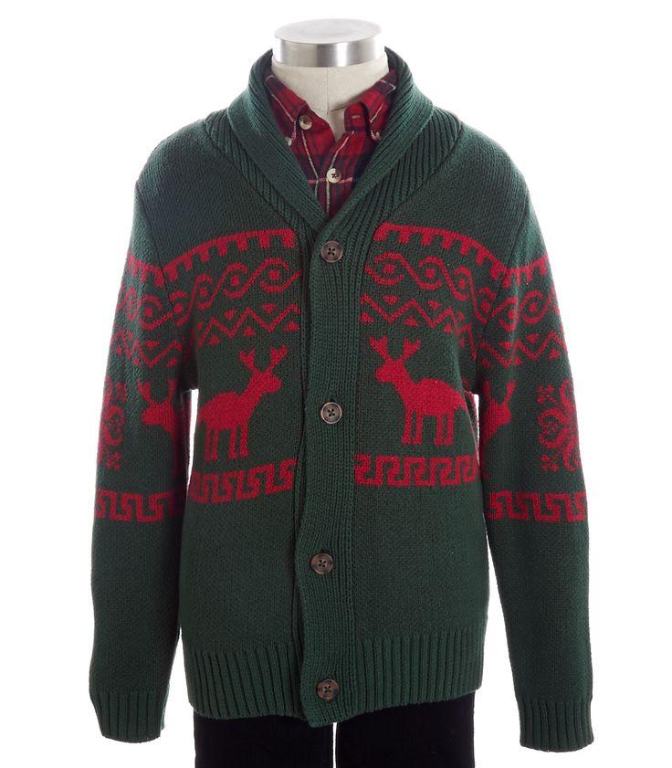 Reindeer Shawl Collar - View All - Shop - boys | Peek Kids Clothing