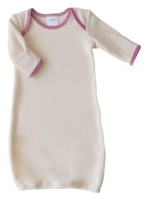 Newborn gown $33 (Castleware = organic / GOTS)