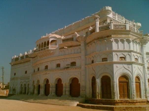 White Palace Talpurs Beautiful Views Sindh Photo