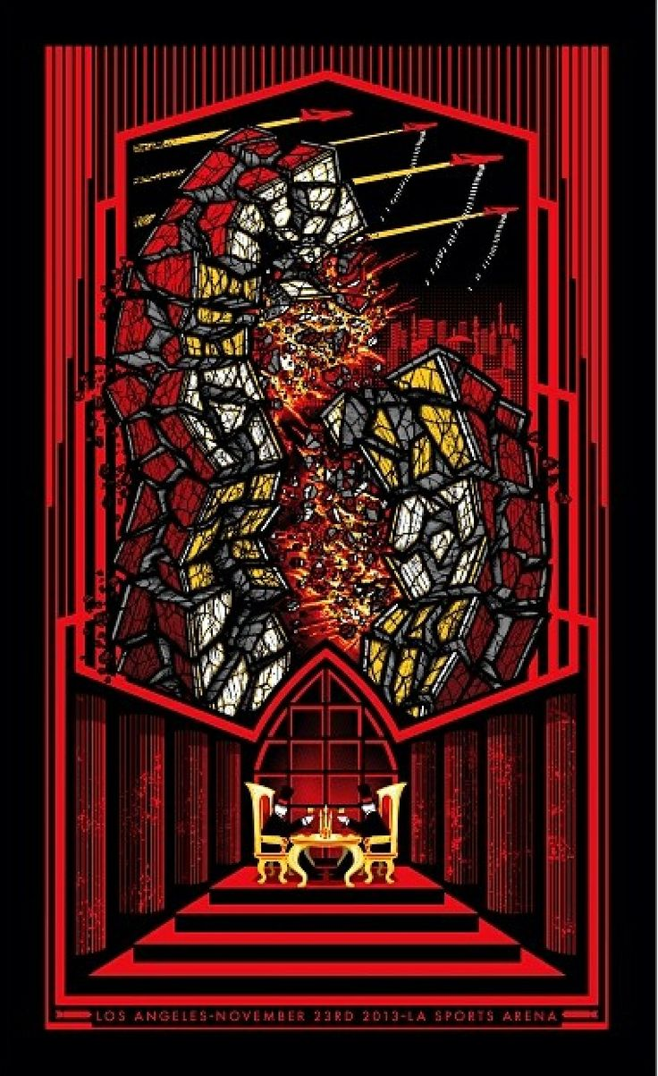 Poster design los angeles - Pearl Jam Los Angeles Brad Klausen Poster Night One Shirt Sticker