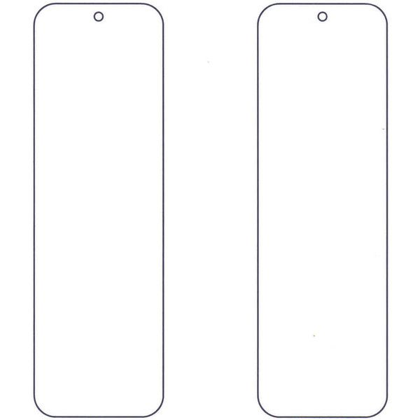 This is an image of Satisfactory Free Printable Bookmark Templates