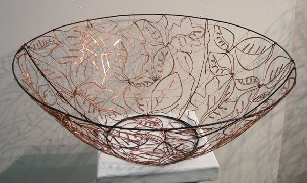 17 best images about wire sculpture project on pinterest for Wire art projects