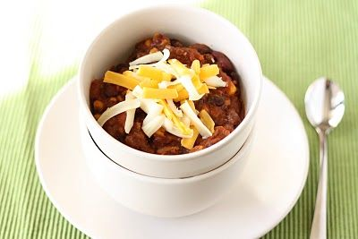 Laura's Quick Slow-Cooker Turkey Chili very loosely adapted from ...