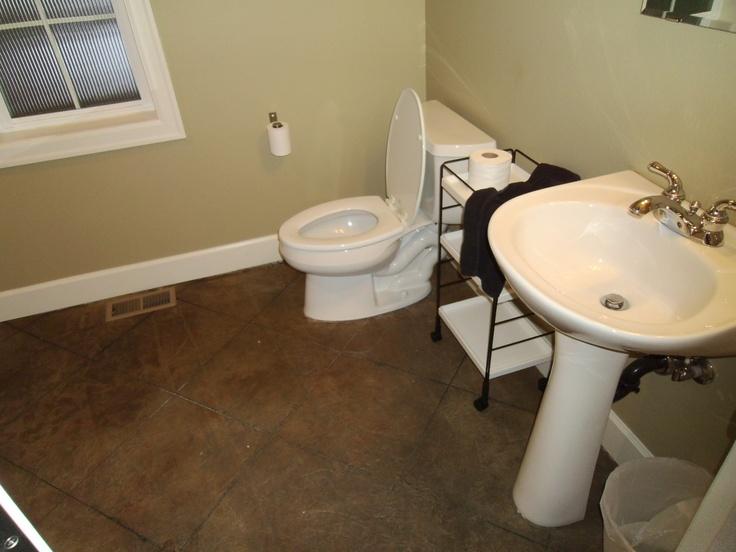 Concrete Overlay For Bathroom Floor Wood Floors