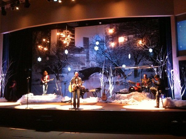 Christmas On The Lake | Church Stage Design Ideas | Stage Design Ideas |  Pinterest | Laghi, Sfondi E Design
