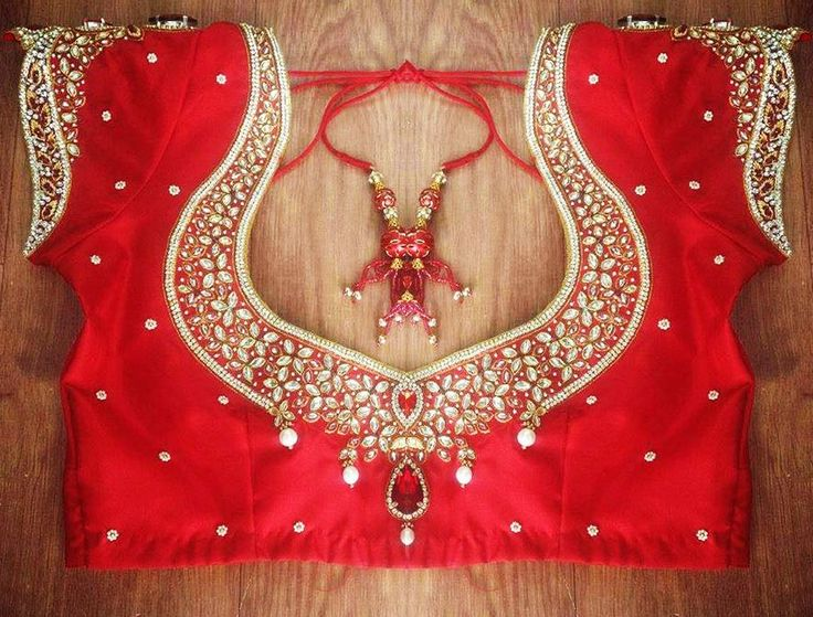 Bridal Blouse Designs – Your Choice Saree blouse plays an important role in the saree's overall appeal. No matter how beautiful a Bridal saree is, an imperfect blouse can spoil the whole look. The Elegance of the saree accentuates only when it is matched with an appropriately designed Bridal Blouse …