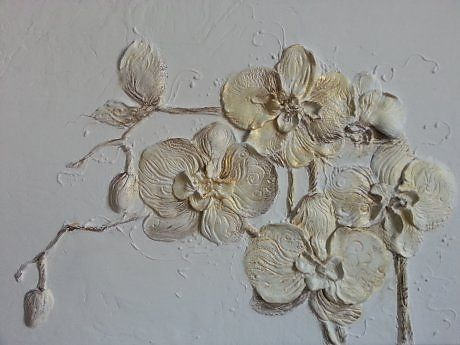 floral relief