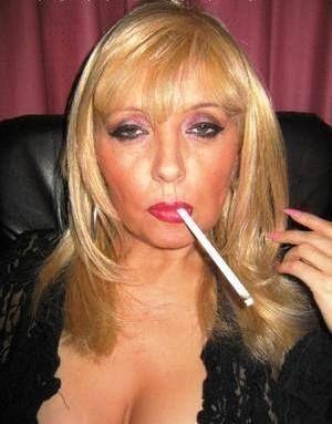 Busty women smokers