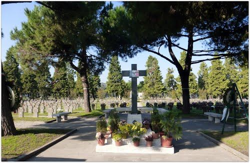 CAMPO X CAMPO ONORE MILAno CADUTI REPUBBLICA SOCIALE ITALIANA,  1945 - GUERRA CIVILE ITALIANA 1945