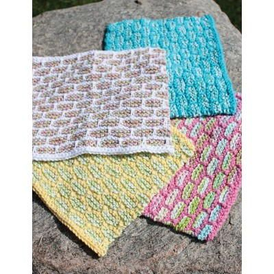 Knitted Dishcloth Pattern Books : 177 best images about knitted dishcloth on Pinterest Free pattern, Dish tow...