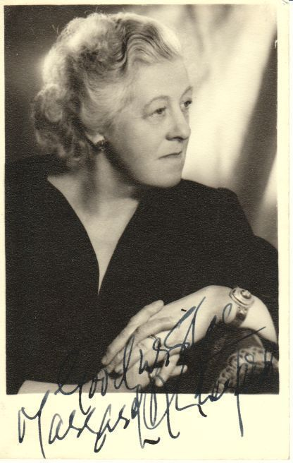 MARGARET RUTHERFORD - The ONLY Miss Marple for me. You do not get any better.