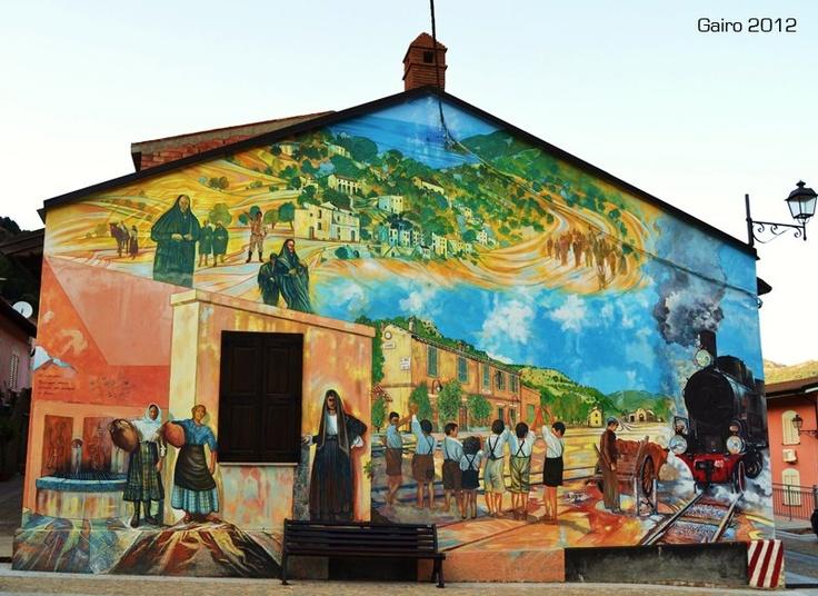 #Gairo #Murales in #Sardegna - #Sardinia