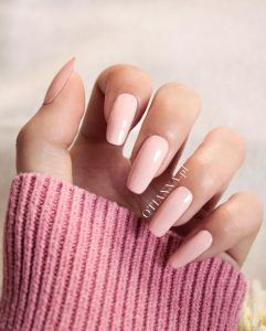 OTIANNA's nails Anna Berezowska - paznokcie  #nails #pink