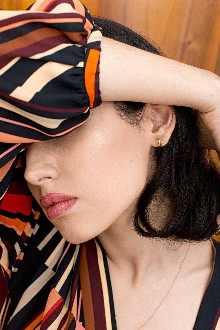 rett frem #jewelry | #earrings Krystyna| Precjoza collection | photo Magdalena Czajka